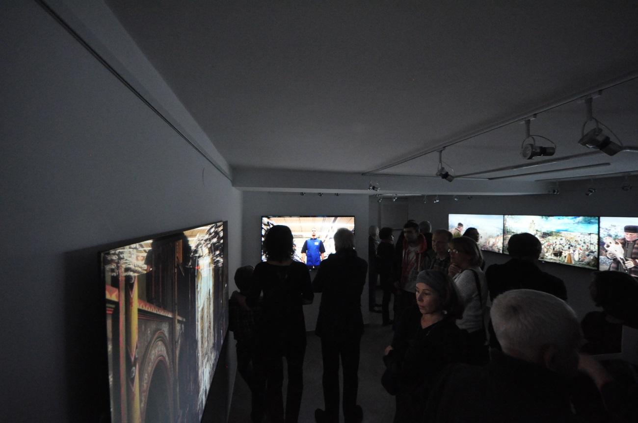 """Wernisaż wystawy Lecha Majewskiego """"Camera lucida"""" w galerii sztuki spa spot w Nałęczowie 24 października 2015 roku. © Grzegorz Wójcik"""