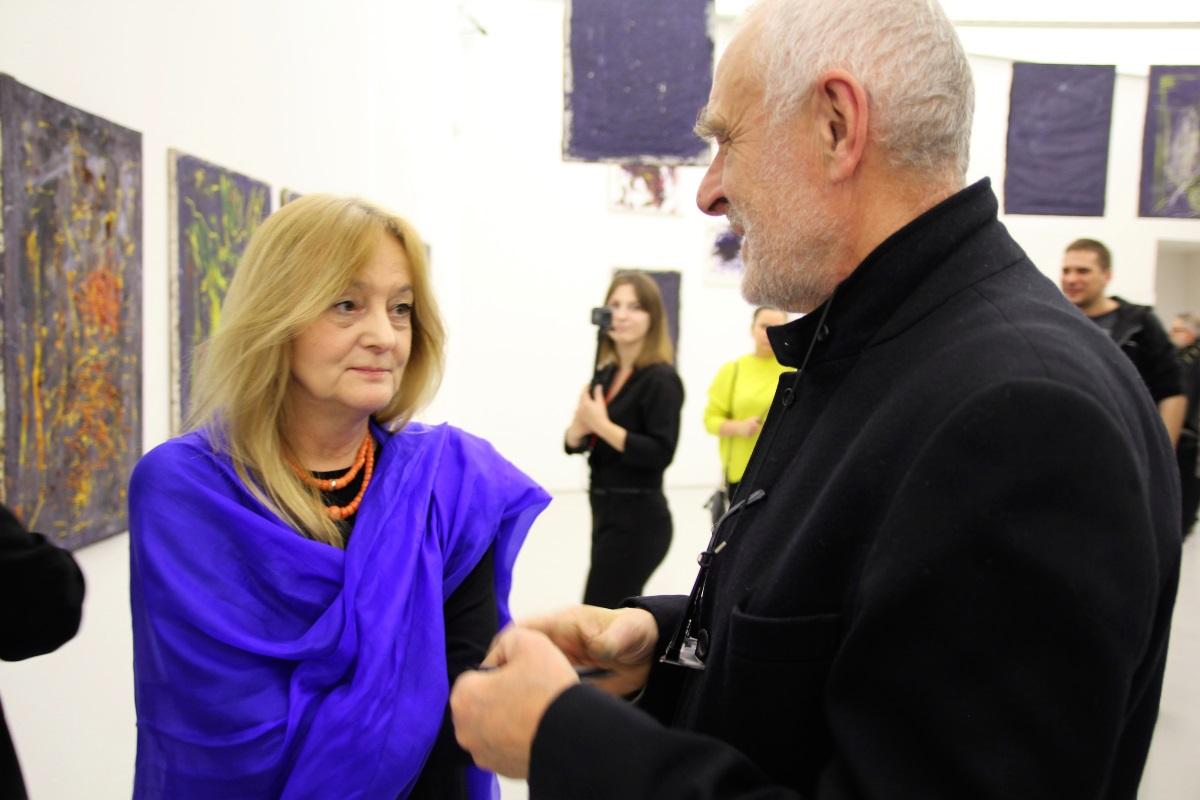 Anna Król i Janusz Michalik. Jacek Sempoliński. Obrazy patrzące. Muzeum Manggha, styczeń 2017.