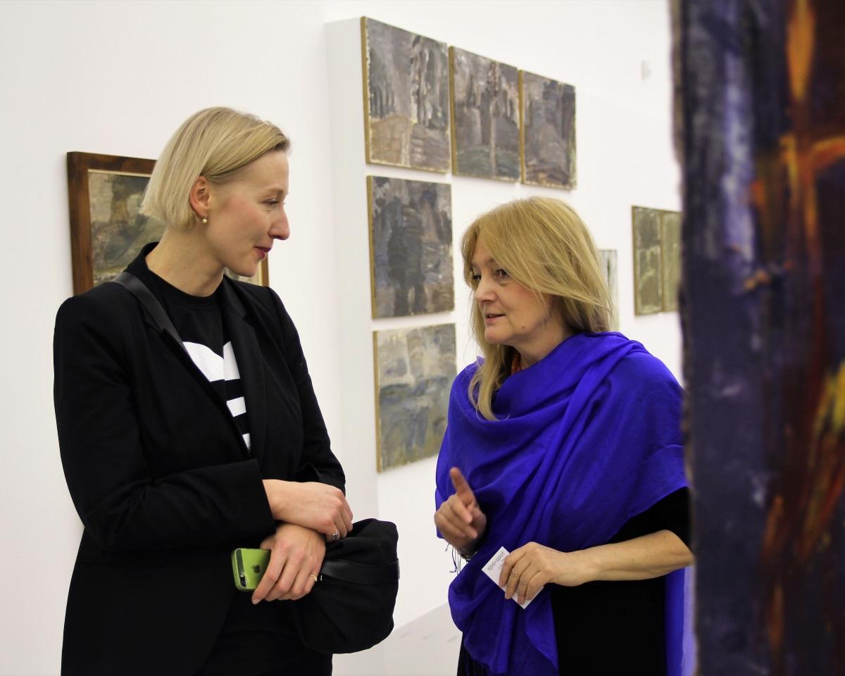 Agnieszka Szewczyk i Anna Król. Jacek Sempoliński. Obrazy patrzące. Muzeum Manggha, styczeń 2017.