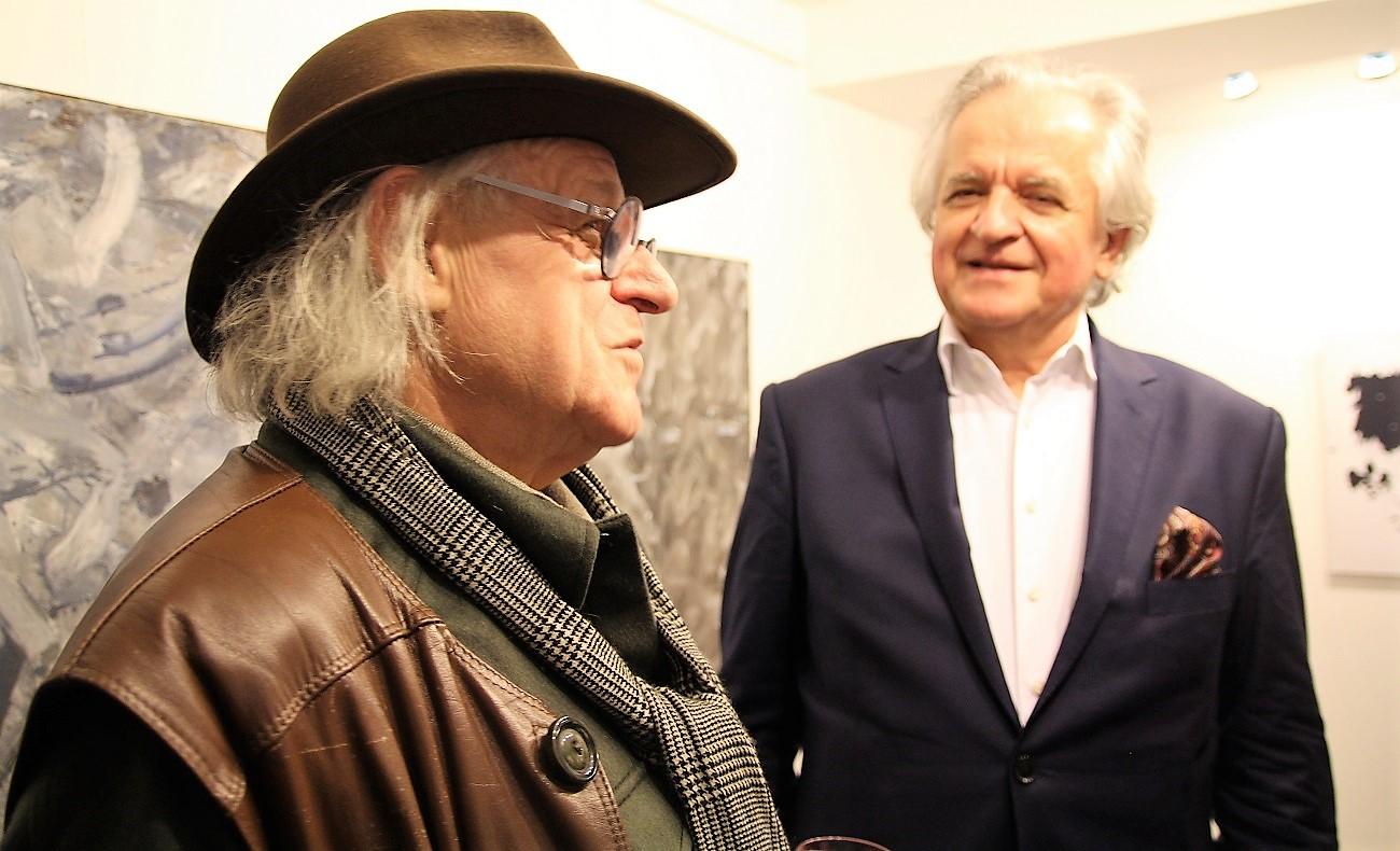 Tadeusz Mysłowski. Wernisaż wystawy Jacek Sempoliński. Malarstwo, 25 marca 2017 roku.