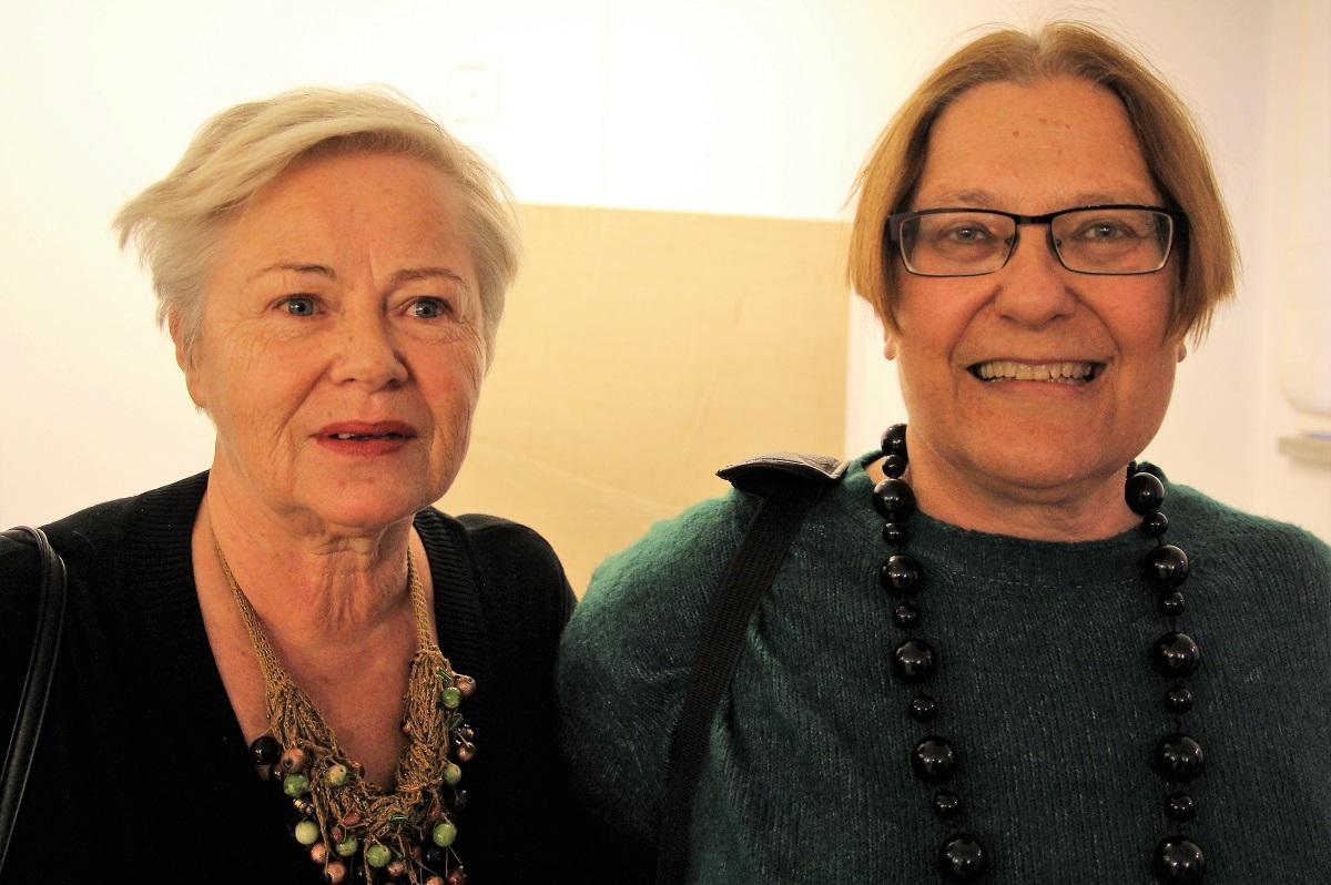 Janina Babinicz-Witucka (z lewej) i Honorata Sosnowska.