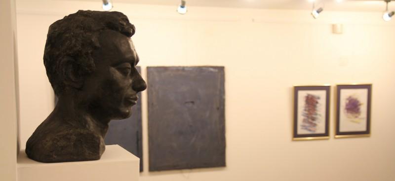 Wnętrze galerii sztuki spa spot w Nałęczowie.