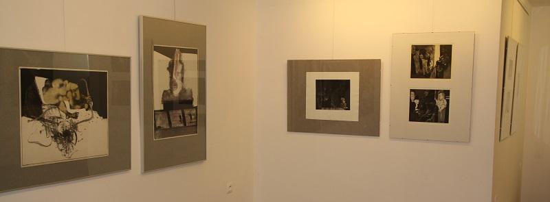 """Wernisaż wystawy """"Janusz Przybylski. Grafika i malarstwo"""" w galerii sztuki spa spot w Nałęczowie, 13 września 2014 roku."""